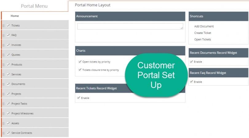 vTigerCRM Portal de Clientes